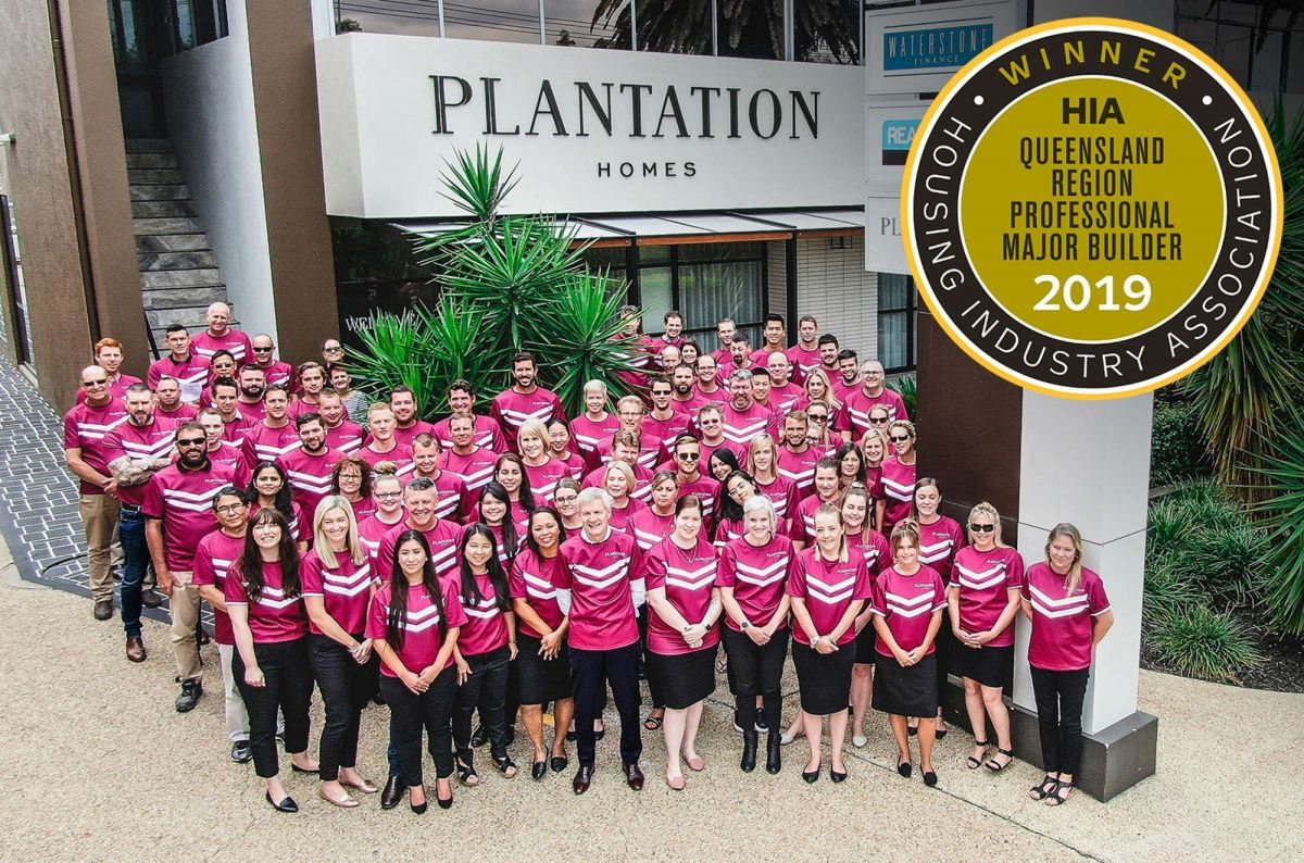 Plantation Homes wins HIA award